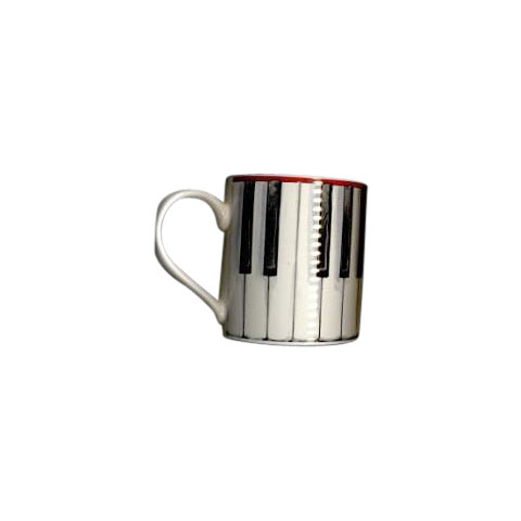 Tazas Little Snoring Instrument Designs Piano Keys Mug