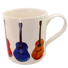 Music Sales Keramikbecher Acoustic Guitar II Mug « Tazza da caffè