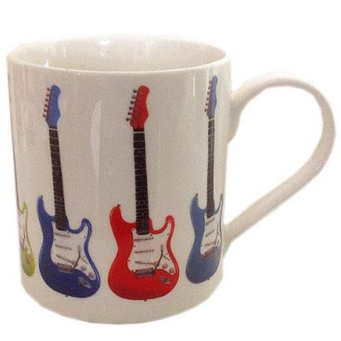 Kaffeetasse Music Sales Keramikbecher Electric Guitar II Mug