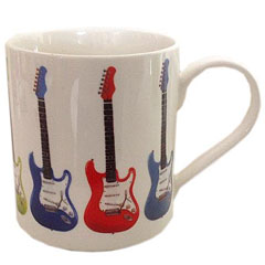 Music Sales Keramikbecher Electric Guitar II Mug « Kaffeetasse