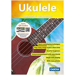 Cascha Ukulele - Learn to play quick and easy « Libros didácticos