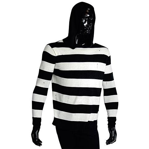 Sweat à capuche Rock it! Knitted Striped Hoodie L