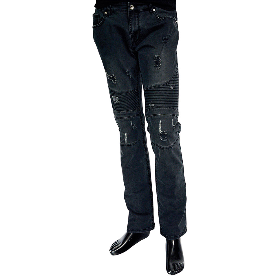 Rock it! Biker Pants Straight Loose Fit 3434