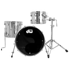 "DW Stainless Steel 22"" Drumset « Set di batterie"