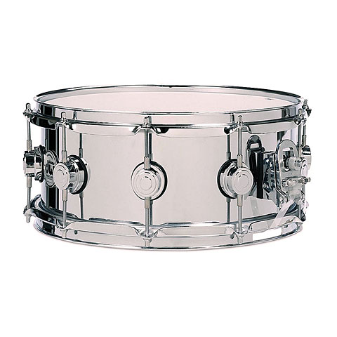 "Caja DW Collector's Stainless Steel 14"" x 6,5"" Snare"