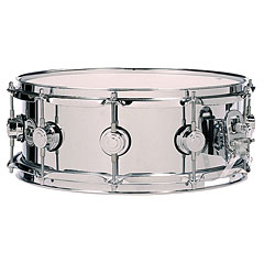 "DW Collector's Stainless Steel 14"" x 5,5"" Snare « Snare Drum"