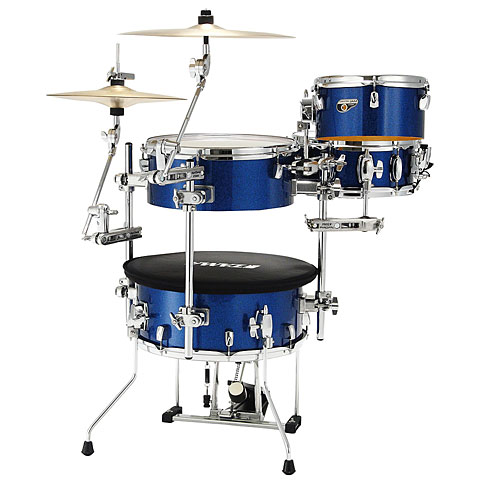 "Batterie acoustique Tama Cocktail-Jam 16"" Indigo Sparkle"