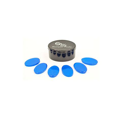Fellzubehör SkyGel 8 Crystal Blue Damper Pads