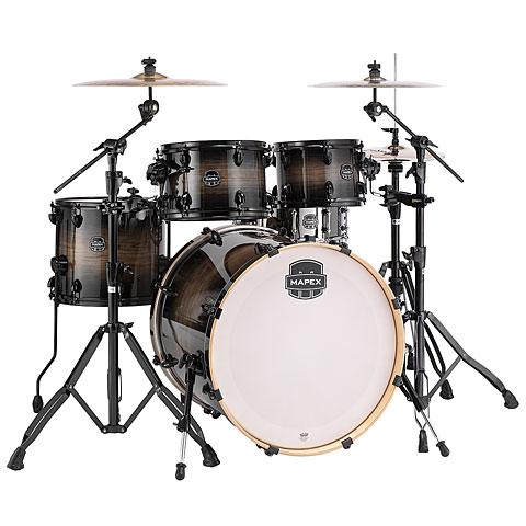"Mapex Armory 22""  Black Dawn Shell-Set"