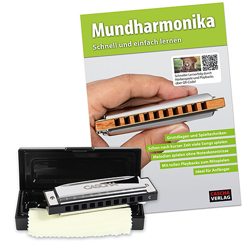 Armónica mod. Richter Cascha Blues Harmonica Set