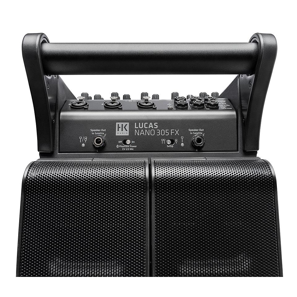 hk audio lucas nano 305 fx active pa speakers. Black Bedroom Furniture Sets. Home Design Ideas