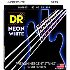 DR Neon White Medium « Saiten E-Bass