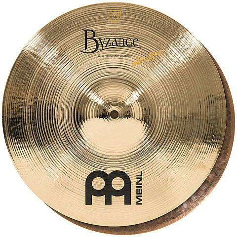 Meinl Byzance Brilliant 14  Derek Roddy Serpents HiHat