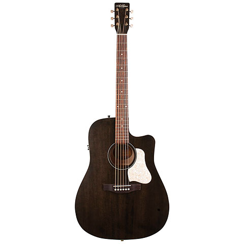 Westerngitarre Art & Lutherie Americana Faded Black CW QIT
