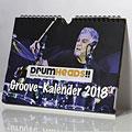 Kalender PPVMedien DrumHeads!! Groovekalender 2018