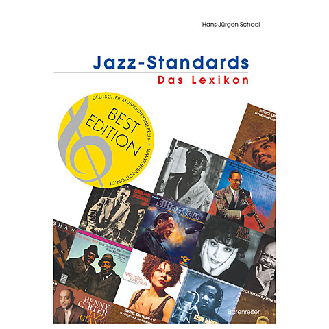 Guide Books Bärenreiter Jazz-Standards- Das Lexikon