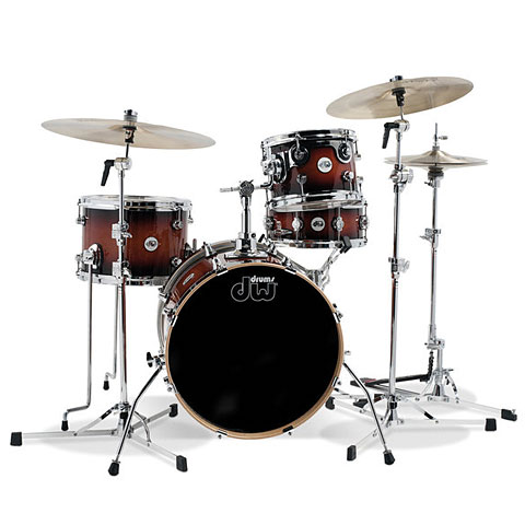 DW Design 18'' Tobacco Burst Mini Pro Set