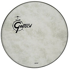"Gretsch Drums 22"" Fiberskyn Resonant Head « Peau de grosse caisse"