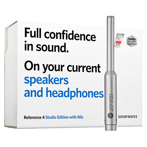 Sonarworks Reference 4 Studio Edition Mic Bundle
