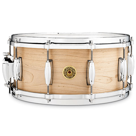 "Gretsch Drums USA 14"" x 6,5"" Solid Maple Snare Drum"