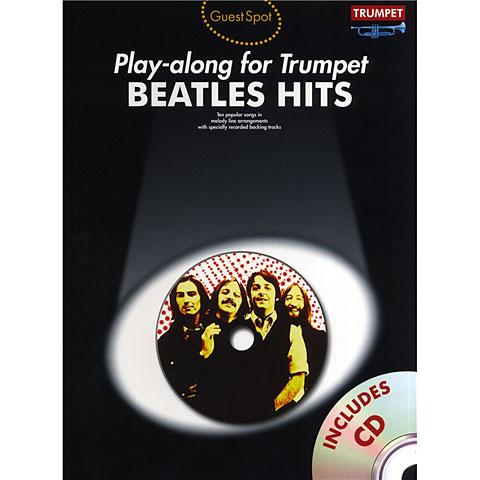 Play-Along Music Sales Beatles Hits - Playalong for Trumpet