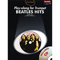 Play-Along Music Sales Beatles Hits for trumpet