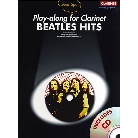 Music Sales Beatles Hits - Playalong for Clarinet