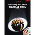 Play-Along Music Sales Beatles Hits for clarinet