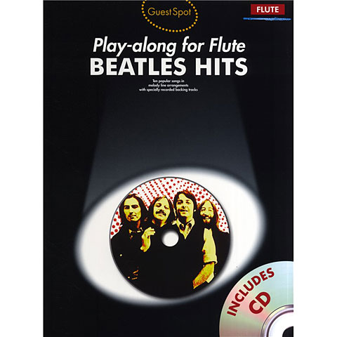 Play-Along Music Sales Beatles Hits - Playalong for Flute
