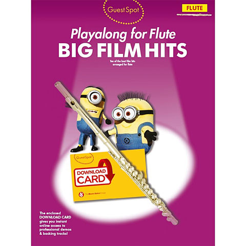 Music Sales Big Fim Hits for flute