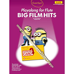 Music Sales Big Film Hits - Playalong for Flute « Play-Along