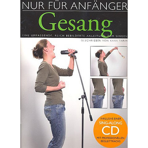 Libros didácticos Bosworth Nur für Anfänger Gesang