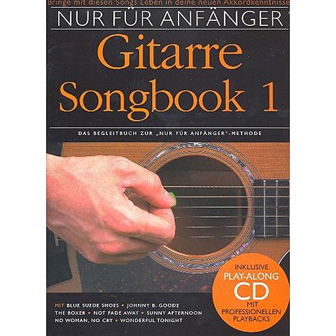 bosworth nur f r anf nger gitarre songbook 1 cancionero. Black Bedroom Furniture Sets. Home Design Ideas