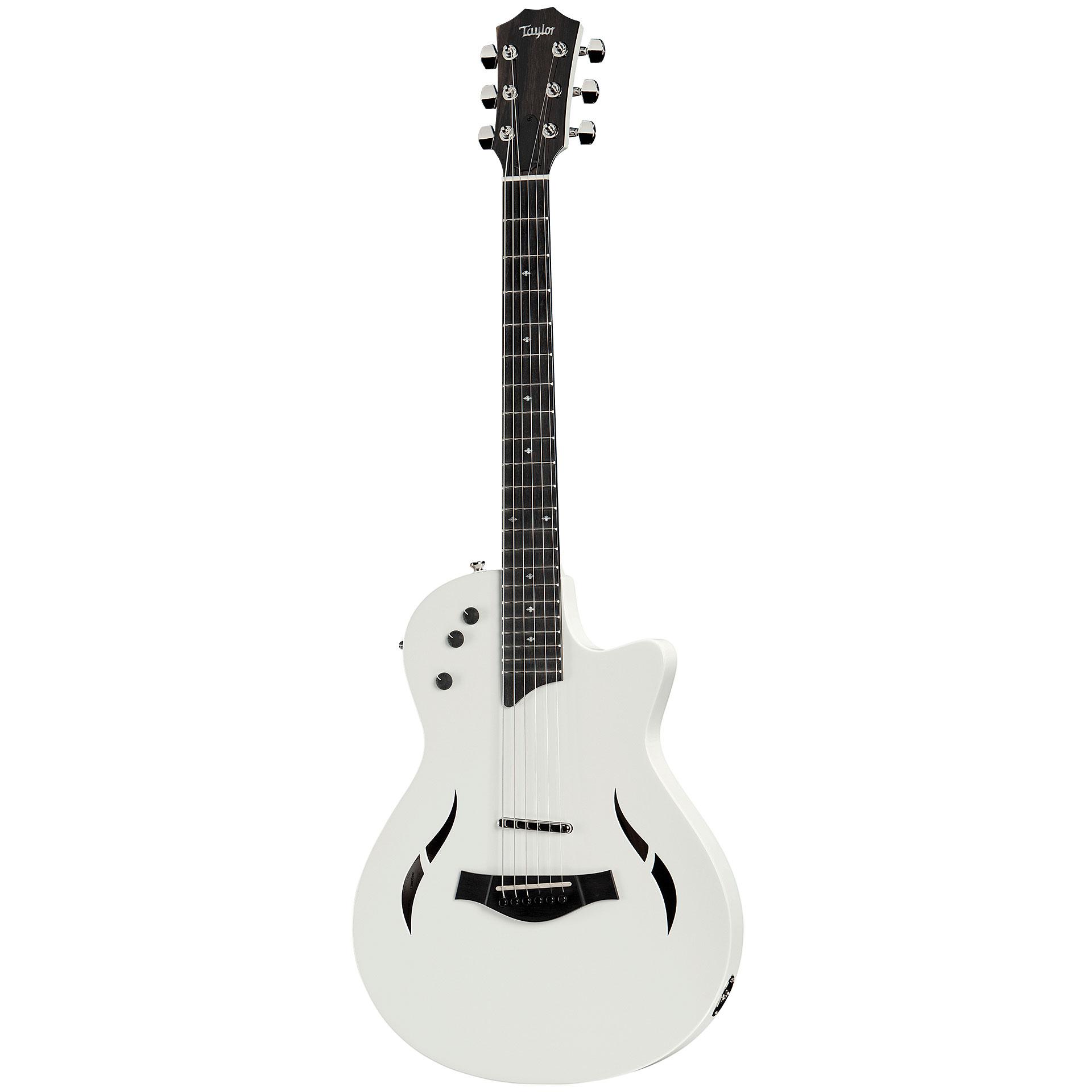 e61ee2e0b44a Taylor T5z Classic DLX LTD Artic White « Acoustic Guitar