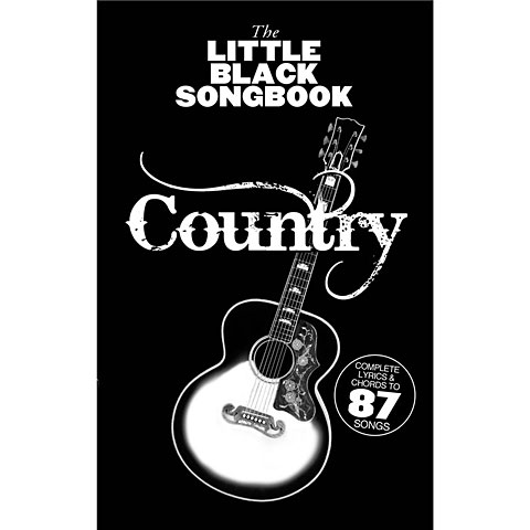 Music Sales The Little Black Songbook Country