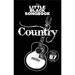 Music Sales The Little Black Songbook - Country « Recueil de morceaux
