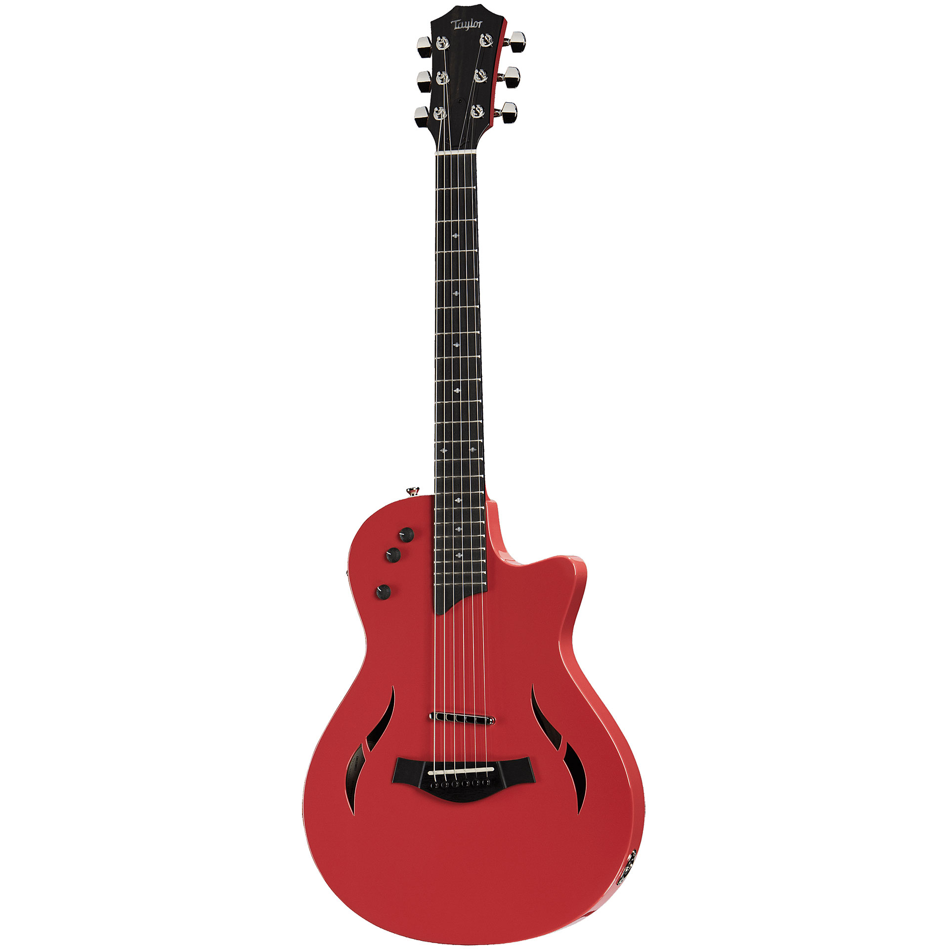 Taylor T5z Classic Dlx Ltd Fiesta Red 171 Acoustic Guitar