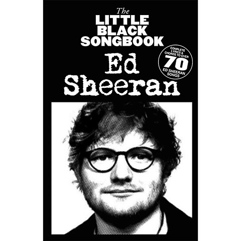 Music Sales The Little Black Songbook Ed Sheeran