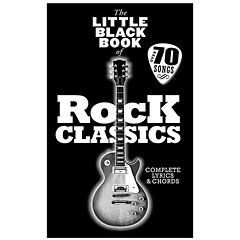 Music Sales The Little Black Book of Rock Classics « Recueil de morceaux