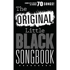Music Sales The Original Little Black Songbook « Cancionero