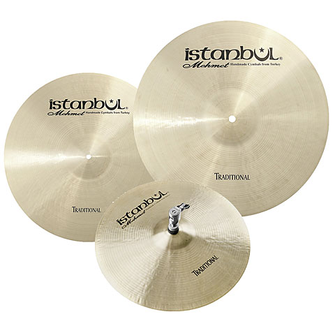 Pack de cymbales Istanbul Mehmet Traditional Light Cymbal Set