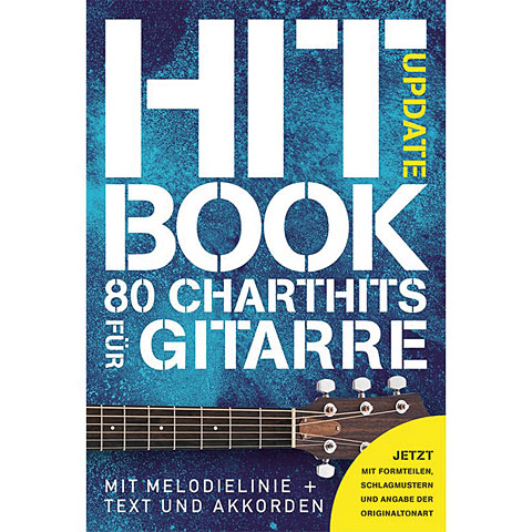 Recueil de Partitions Bosworth Hitbook Update - 80 Charthits für Gitarre