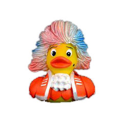 Bosworth Rubber Duck Amadeus Orange « Figuur