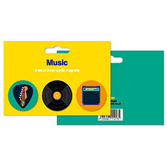 My World Set of 3 Magnets - Music « Magnet Pin