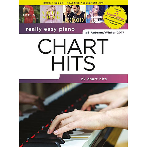 Music Sales Really Easy Piano - Chart Hits #5  Autumn/Winter 201