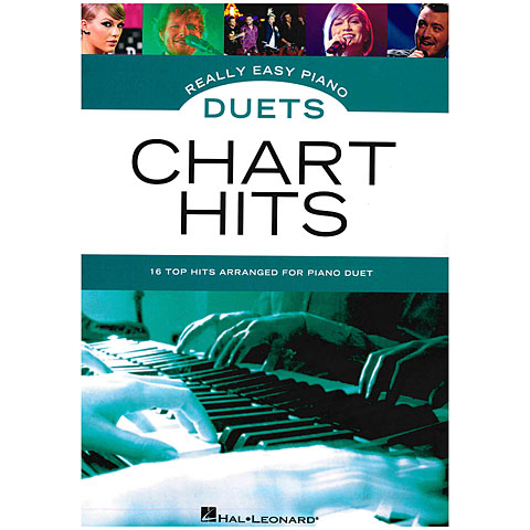 Notenbuch Music Sales Really Easy Piano Duets - Chart Hits