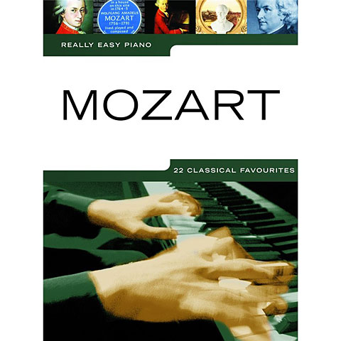 Music Sales Really Easy Piano - Mozart