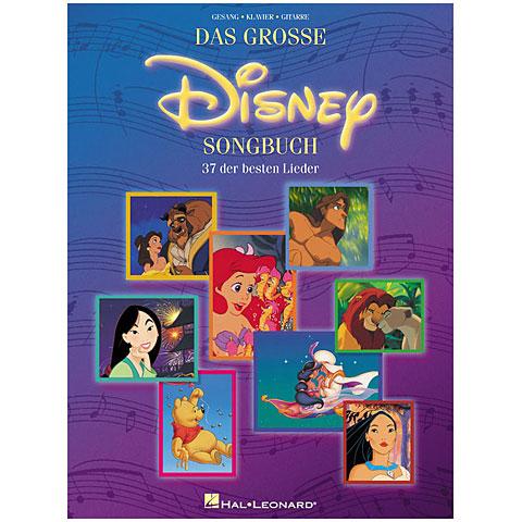 Recueil de morceaux Hal Leonard Das große Disney Songbuch