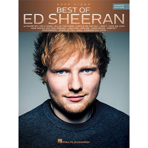Libro de partituras Hal Leonard Best Of Ed Sheeran for Easy Piano
