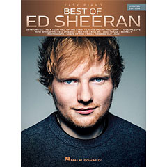 Hal Leonard Best Of Ed Sheeran for Easy Piano « Recueil de Partitions